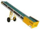 Bandtransportör 6 x 0,48m. med hjulsats