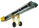 Bandtransportör 4,5 x 0,48m. med hjulsats