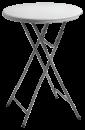 Ståbord, fällbart i plast