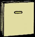 Tapetserarbord, 0,63 x 3,0 meter