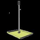 Fotplatta för lasergjutning