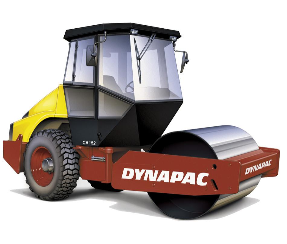 Vält envals 7300KG Dynapac CA152D