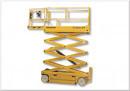 Saxlift, 10,14 meter självgående, Bredsax